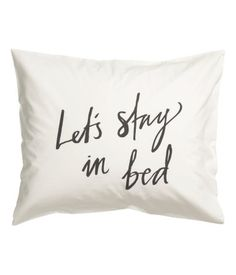 Pillowcase, H&M Home
