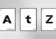 Designer Creates The Idea Alphabet, An Idea In An Alphabet DesignTAXI.com #creates #designer #alphabet #designtaxi #idea #com