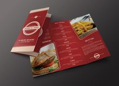 Menu Brochure Design - Print