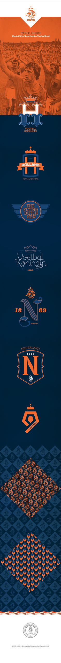 KNVB on Behance #port