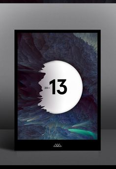A new world on Behance #2013 #behance #poster