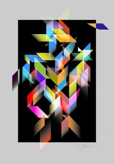 Element Structure 5 | Flickr - Photo Sharing! #print #design #graphic #color #geometric #poster #art