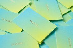 Franzius_1.jpg #studiohausherr #businesscard #grdient #print #emboss