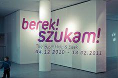Berek! Szukam! #perspective #environment #typography