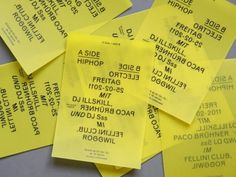 nonclickableitem #yellow #flyers