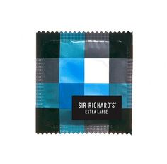 Sir Richard's Condom Company #design #condom #package