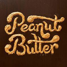 General Mills Cereals, peanut butter, food, lettering