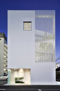 Japan office building by Hiroyuki Moriyama Architect and Associates in Kanagawa