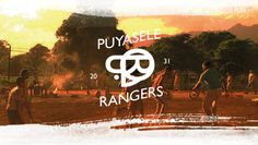 puyasele rangers #africa #design #orange #soccer #vintage #sunset #typography