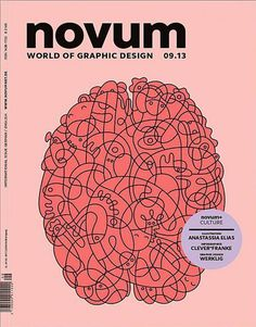 Novum (Germany) #illustration #brain #magazine cover