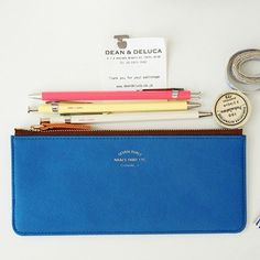 Seven Dials Pencil Pouch #case #pencil #colour #leather