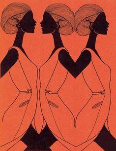 Fashion Illustrations by Hiroshi Tanabe   Cuded #fashion #tanabe #illustrations #hiroshi