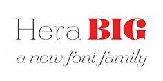 Hera Big - Webfont & Desktop font « MyFonts #type