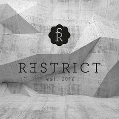 Restrict Logo #logo #clothing