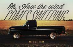 Random Design #americana #ford #classic #black #trucks #1960s #cars #f100 #oklahoma