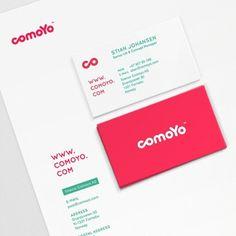Comoyo identity – bleed - agency blog #bleed #comoyo