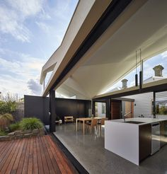 Addition to an Existing Double Fronted Dwelling – Tunnel House