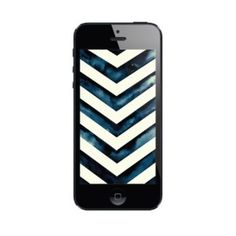 Image of Water Color Chevron | iPhone 5 & iPhone 4 Wallpaper