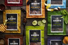 product packaging & photography #hatch #krave