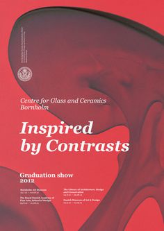 Centre for Glass and Ceramics Graduation show #print #poster