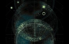 CHAOS AND STRUCTURE on the Behance Network #univers #structure #orbits #and #planets #chaos
