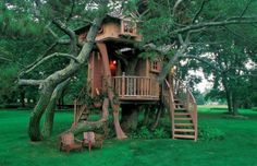 Tree Houses by Pete Nelson #tree #houses #pete nelson