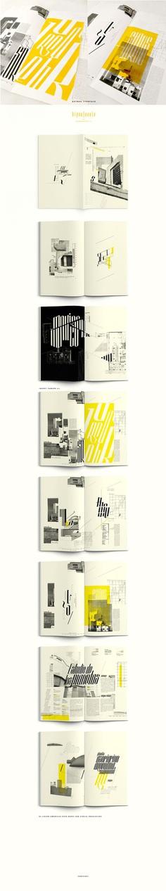 HYPERFUENTE / Typeface on Behance