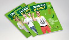 fivefootsix - Champions of Change #brand #corporate