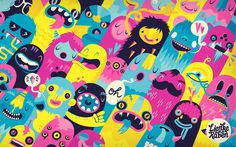 Monsters #monsters #illustration #colorful
