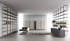 Segni Living Collection as a Modular Architecture for Living Area - InteriorZine