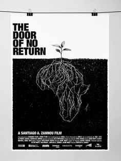 The door of no return #a #of #the #zannou #ddor #santiago #poster #film #return #no