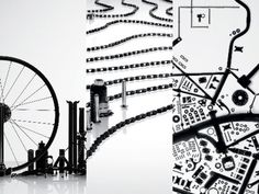 The Art of Bike Parts: DDB Singapore Puts LifeCycle On the Map at Cannes Lions - Core77 #chain #parts #bike