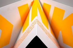 Rider Dickerson Promotional Piece #fold #print #design #graphic