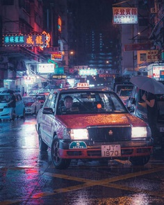 Cyberpunk Hong Kong: Moody Street Photography by Sean Foley