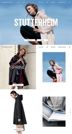 Stutterheim Raincoats - Mindsparkle Mag - Stutterheim is a luxury fashion design brand producing raincoats, awarded as site of the day sotd