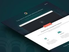 Landing Page #homepage #design #web