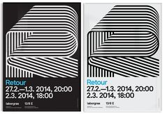 LG_Retour_2014_framed #poster #typography