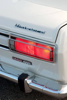 Industrial design(Datsun Whitebird)