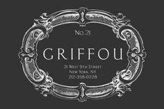 ::| Griffou | NYC | Restaurant & Cocktails |:: #logo #griffou