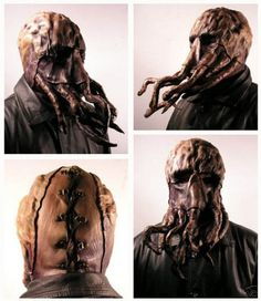 Inspiration | Jordan Lloyd #lovecraft #genre #hp #horror #scifi #mask #leather #monster #cthulhu