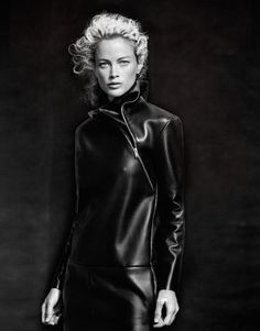 Carolyn Murphy by Cass Bird for Vogue Korea #fashion #model #photography #girl