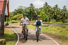 Newly launched 'Village Vistas of Cavelossim' has seen tourists snap up the opportunity to ride into the local village life. . . #letsblive #funoverfuel #fun #ev #ecotourism #eco #tours #ebikes #discovery #goavibes