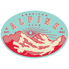 American Alpine Club Us & Them #badge