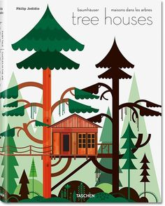 Nice book illustration #illustration #book cover #treehouses
