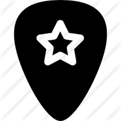 See more icon inspiration related to plectrum, music and multimedia, guitar pick, picks and music on Flaticon.