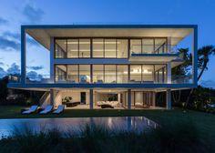 Dream house #modern #white #house #architecture #sunset #sunrise