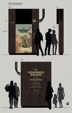 Jonas Eriksson » Every Reason to Panic #wood #industrial #design