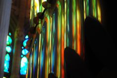 Barcelona Gaudi colour | Flickr - Photo Sharing! #gaudi #cathedral #walby #barcelona #david #wall-b