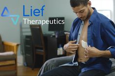 """The Lief is a smart patch that """"keeps track and improves your resiliency to stress by increasing your natural heart rate variability (HRV)"""