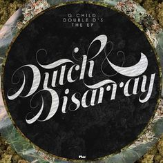 Dutch and Disarray by ~femstah #disarray #design #graphic #cover #femstah #weed #music #cd